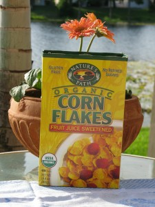 Natures Path Gluten Free Cornflakes Box