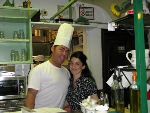 Al Tranvai Chef and Assistant