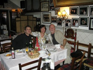 Me, Alex, and me Osteria St. Ana