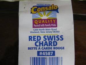 Consalo Farms Chard